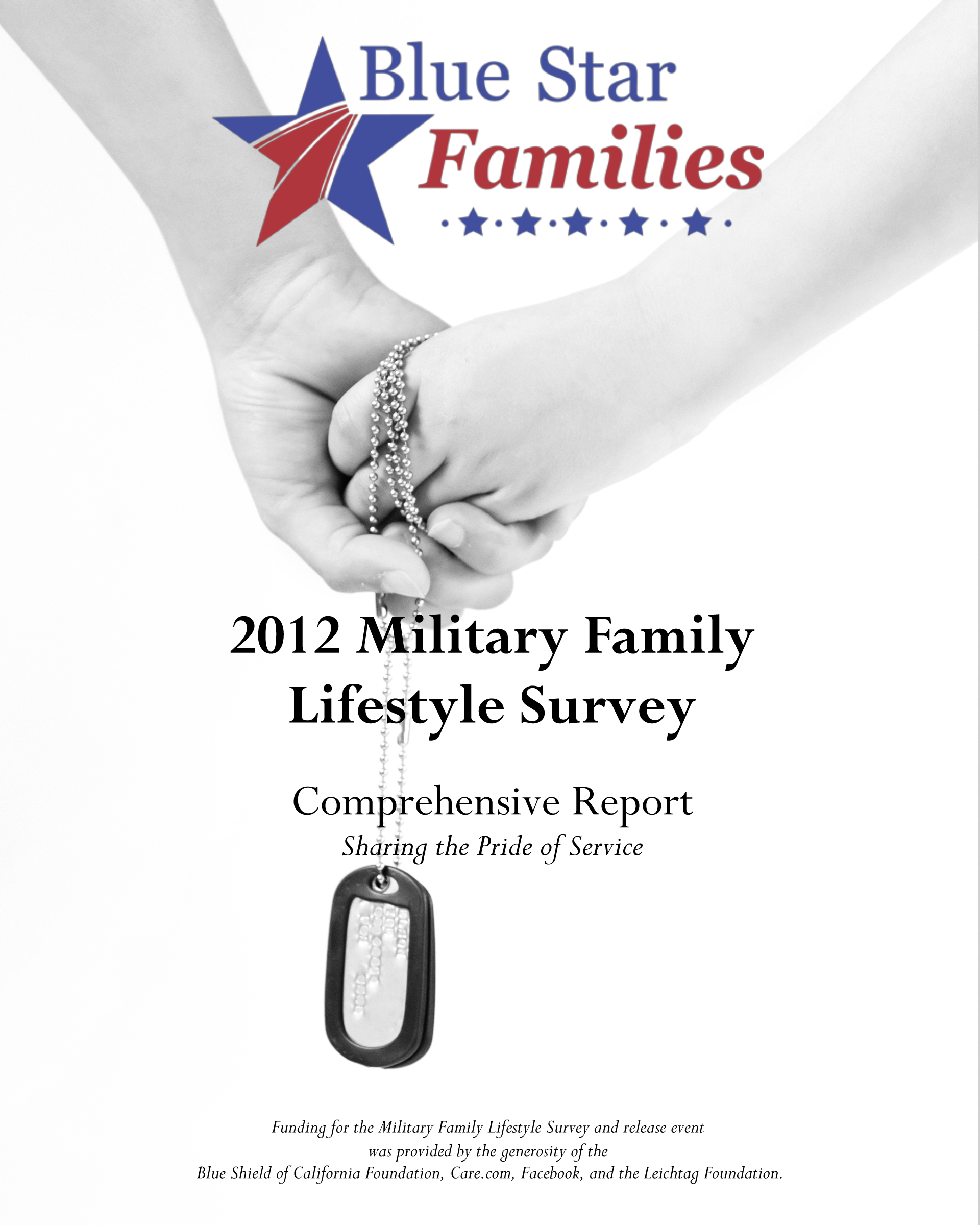 2012 Military Family Lifestyle Survey